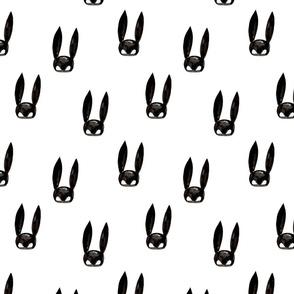 Bunny mask medium