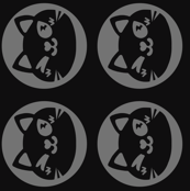 Black Cat D.va Pattern