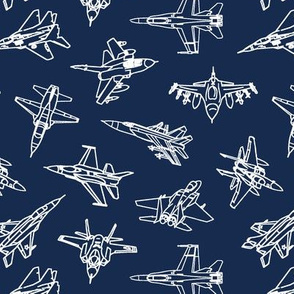 Jets on Navy // Small