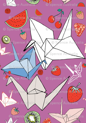 Origami Fruit salad