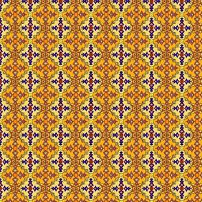 Golden Kilim Ornate Coordinate, Small