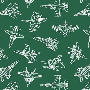 Jets on Jade // Small