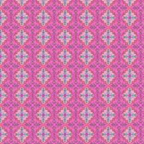 Pink Kilim Ornate, Small