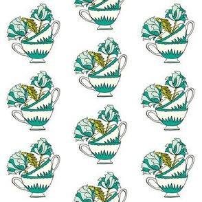 Teacup Design _turq_mint