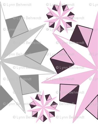 fractal origami floral