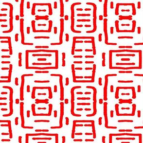 Haba Jiri Red Black & White 1