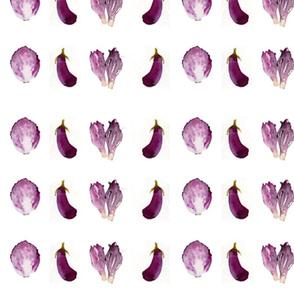 aubergine & chicory