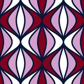07199284 : sine pod : navy orchid burgundy