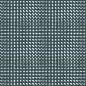faux-uni dots-dark green