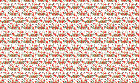 Watercolor Christmas Unicorn fabric by twodreamsshop on Spoonflower - custom fabric