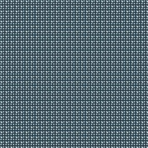 faux-uni dots-teal