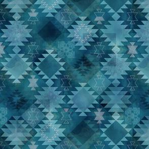 Kilim Dark Blue