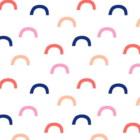 deconstructed rainbow - unicorn dreams coordinate fabric by littlearrowdesign on Spoonflower - custom fabric