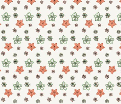 origami pattern 2 fabric by kvanbusky on Spoonflower - custom fabric