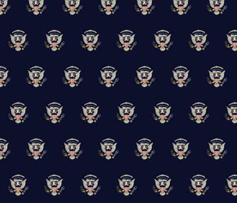 presidentialseal-ed fabric by kempite on Spoonflower - custom fabric