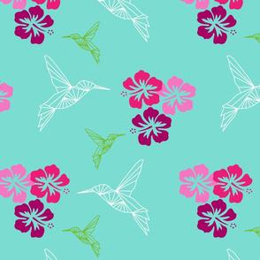 colibri hibiscus Antilles