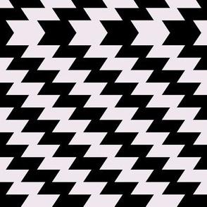 Modern Kilim - black and white