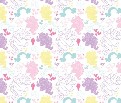 Oricorn  fabric by andrea_elias_ on Spoonflower - custom fabric