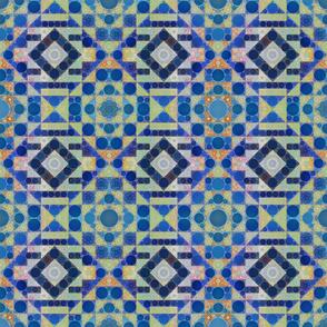Modern Kilim Cosmic Blue