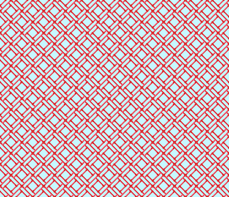 Bamboo Frame fabric by littlerhodydesign on Spoonflower - custom fabric