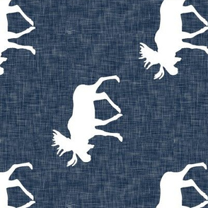 moose on navy linen (large scale) (90)