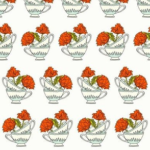 Stacked Tea Cup_red_mint