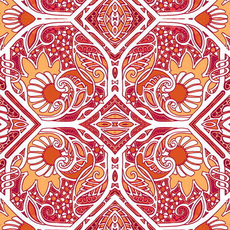 Pass the Sunscreen Please fabric by edsel2084 on Spoonflower - custom fabric