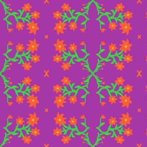 Lavender floral art