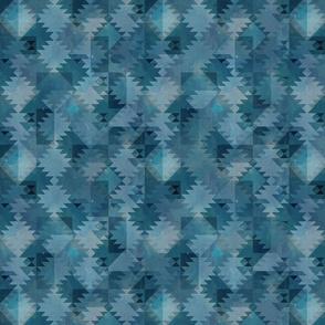 Kilim dark turquoise coordinate