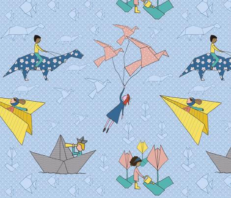 Let's play! fabric by mariakentstudio on Spoonflower - custom fabric