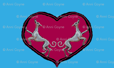 Sighthounds_RoseHeart/Blue Background-ch