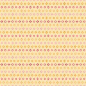 origami stars yellow