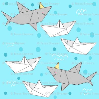 Origami Sharks & Boats