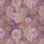 Painterly Sakura Blossoms