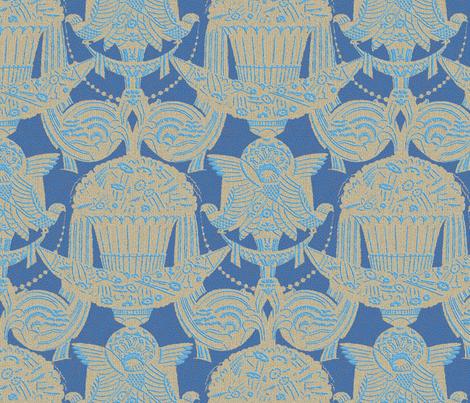 L'Hôtel du Collectionneur 1a fabric by muhlenkott on Spoonflower - custom fabric