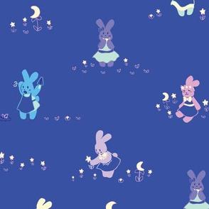 Moon Bunny Garden