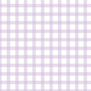 Lilac Gingham