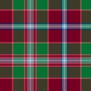 "Moray of Abercairney portrait tartan, 6"""