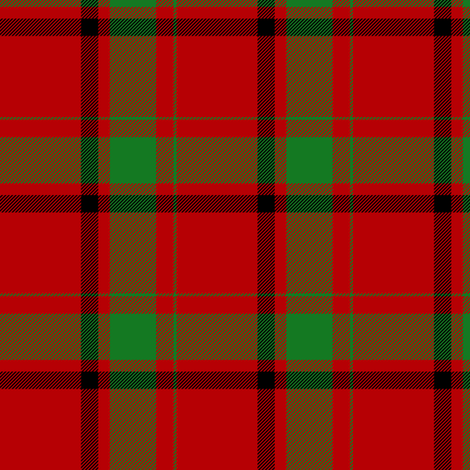 "Maxwell tartan of 1842, 3"" fabric by weavingmajor on Spoonflower - custom fabric"