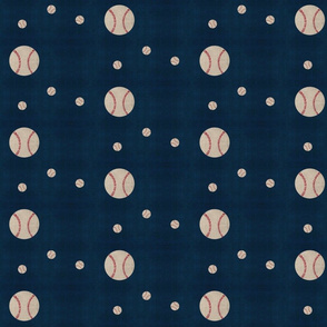 Baseball wave toss - washed navy