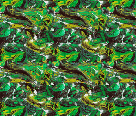 Malachite fabric by fabricadabra_creations on Spoonflower - custom fabric