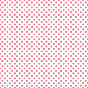 Roseate spoonbill deep dot small