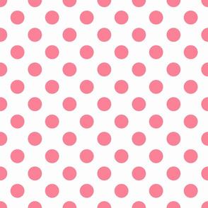 Roseate spoonbill deep dot