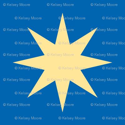 Star on Blue