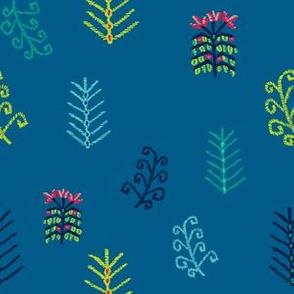 Tropik Kilim 2 (Blue)