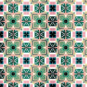 Pastel Keyboard Quilt