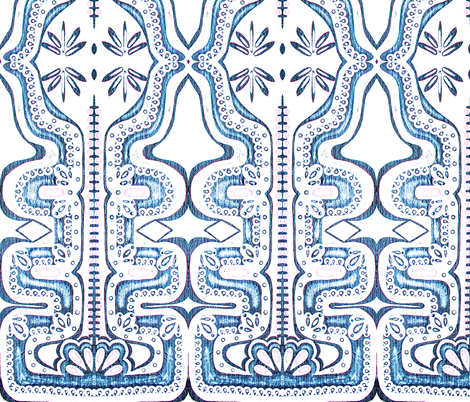 Juliet Hartley / Art Deco  fabric by juliethartley on Spoonflower - custom fabric