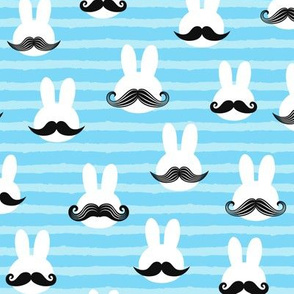 mr. bunny - blue stripes