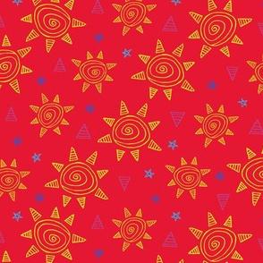 Summer Sun (Red)