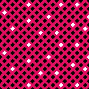 Arizona Diamonds (Pink, Black and White)